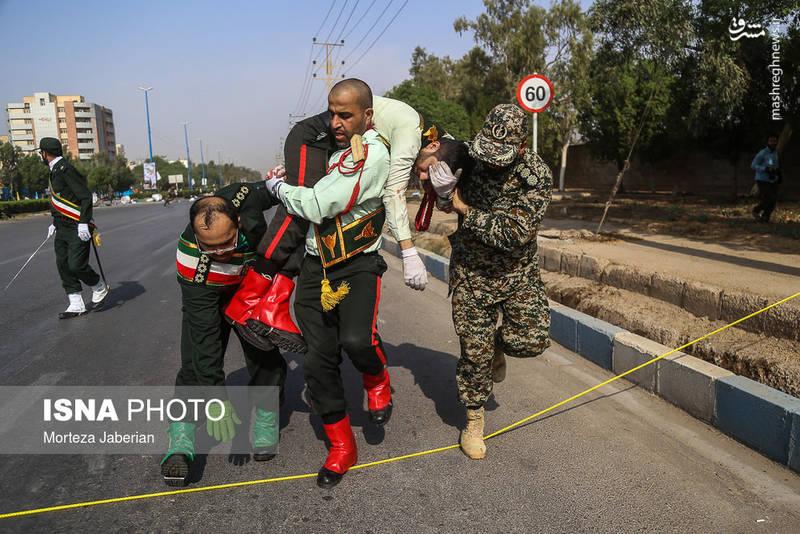 عکسهای شهیدان امروز اهواز