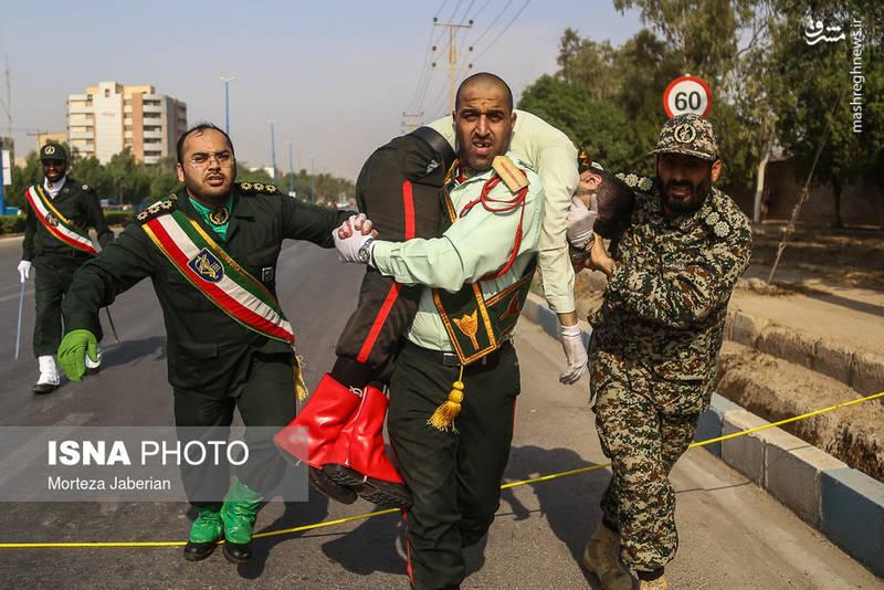 تصاویر شهیدان امروز اهواز