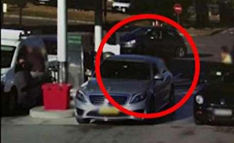 سرقت جنجالی خودرو در فرانسه