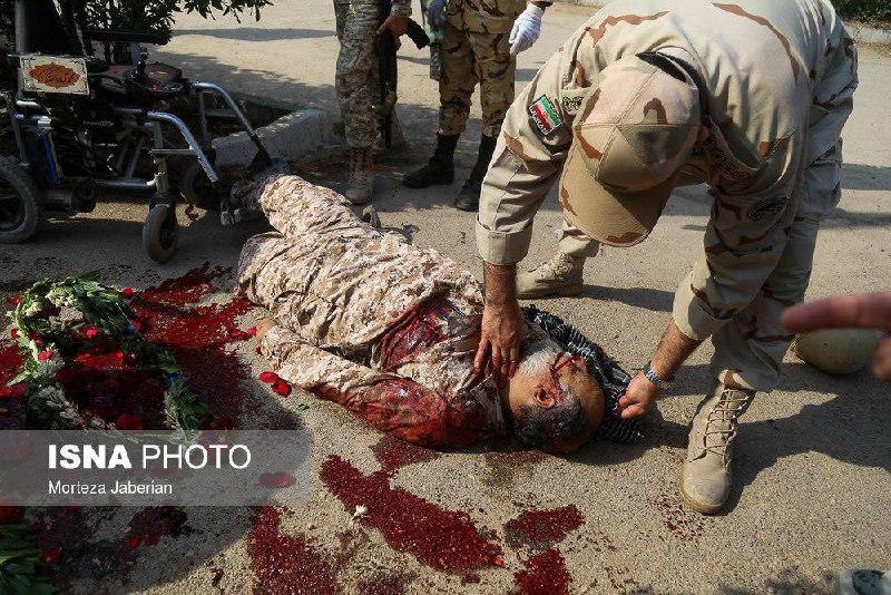 آخرین عکس از جانبازی که امروز در اهواز شهید شد
