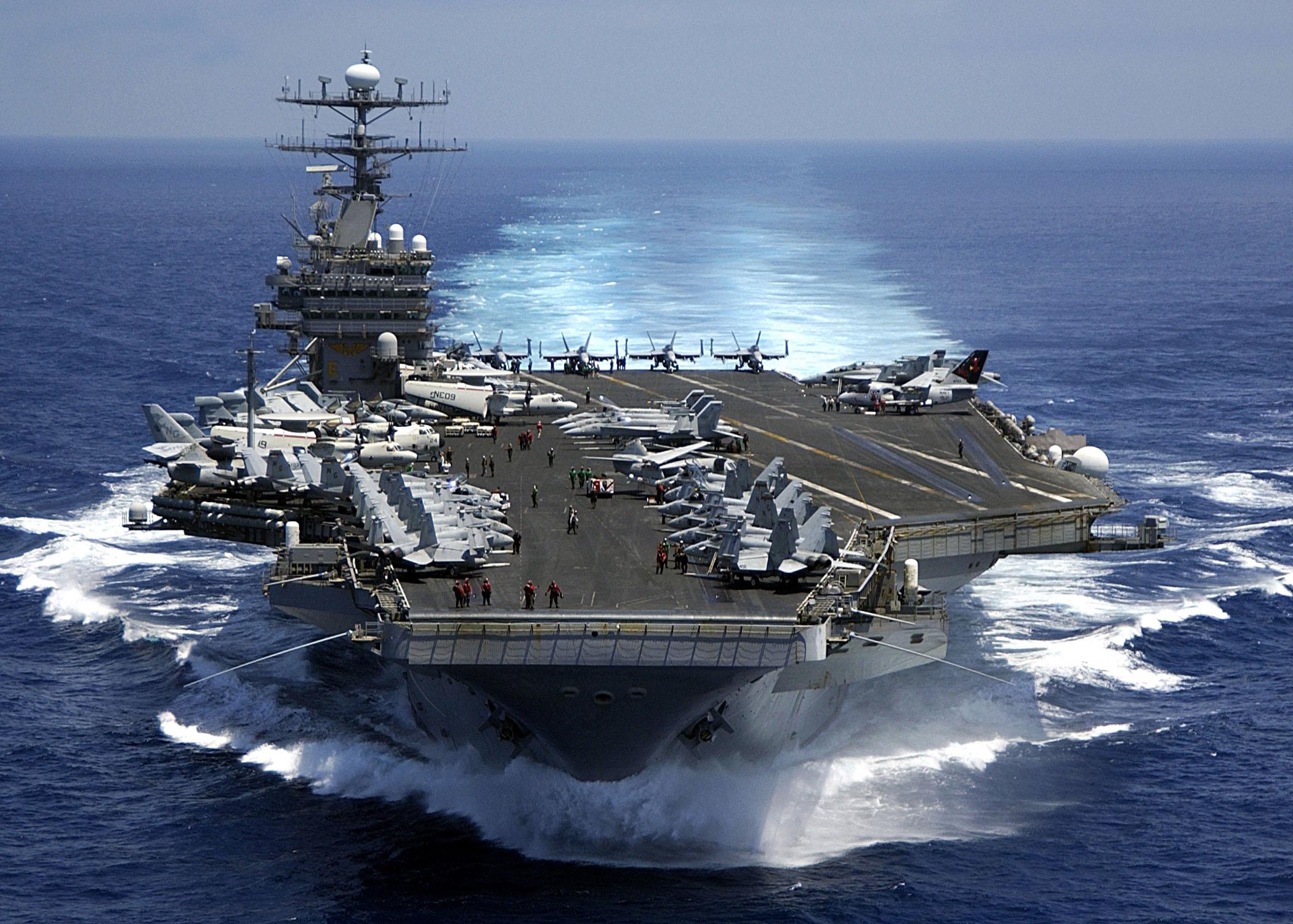 احتمال حضور ناو هواپیمابر ترومن در خلیج فارس