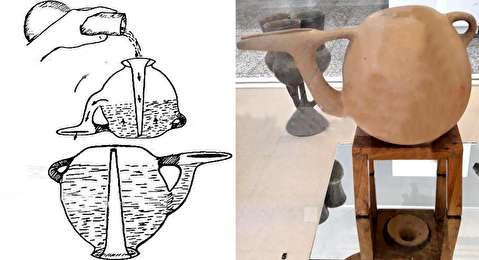 کشف رمز تولید کوزه سههزار ساله ایرانی