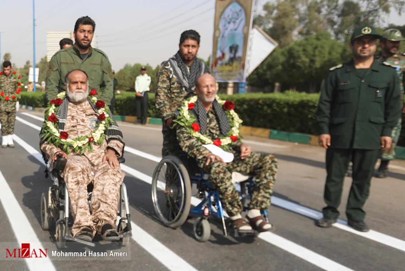سه شهید حمله تروریستی اهواز در یک قاب