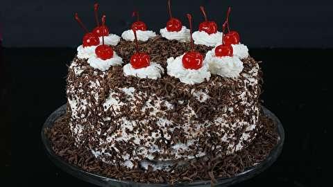 طرز تهیه کیک بلک فارست