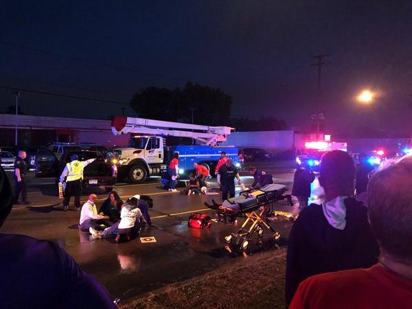 یک کامیون عابران پیاده را در میشیگان زیر گرفت