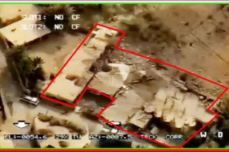 تصاویر اصابت موشکهای سپاه به مقر تروریستها