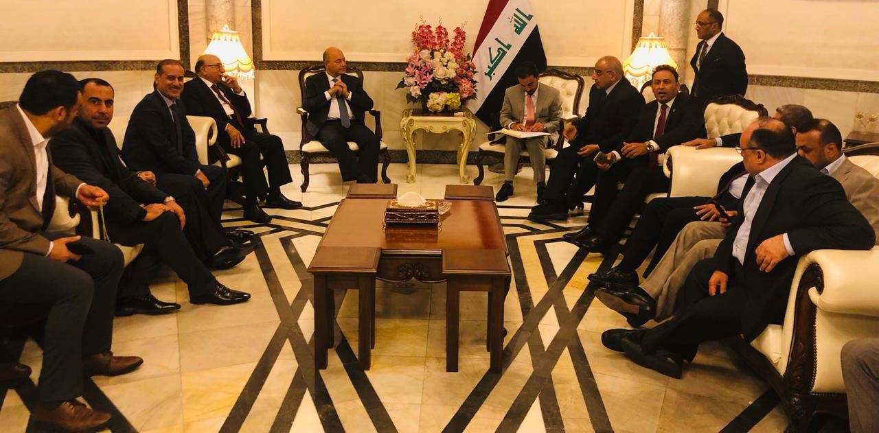 عادل عبدالمهدی رئیس جمهور عراق، برهم صالح را به عنوان نخست وزیر مامور تشکیل کابیسنه گرد.