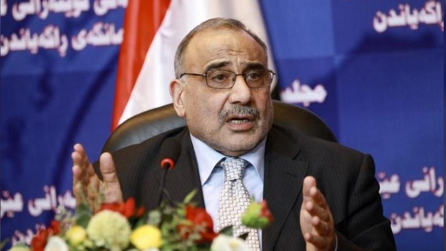 برهم صالح رئیس جمهور عراق، عادل عبدالمهدی را به عنوان نخست وزیر انتخاب کرد