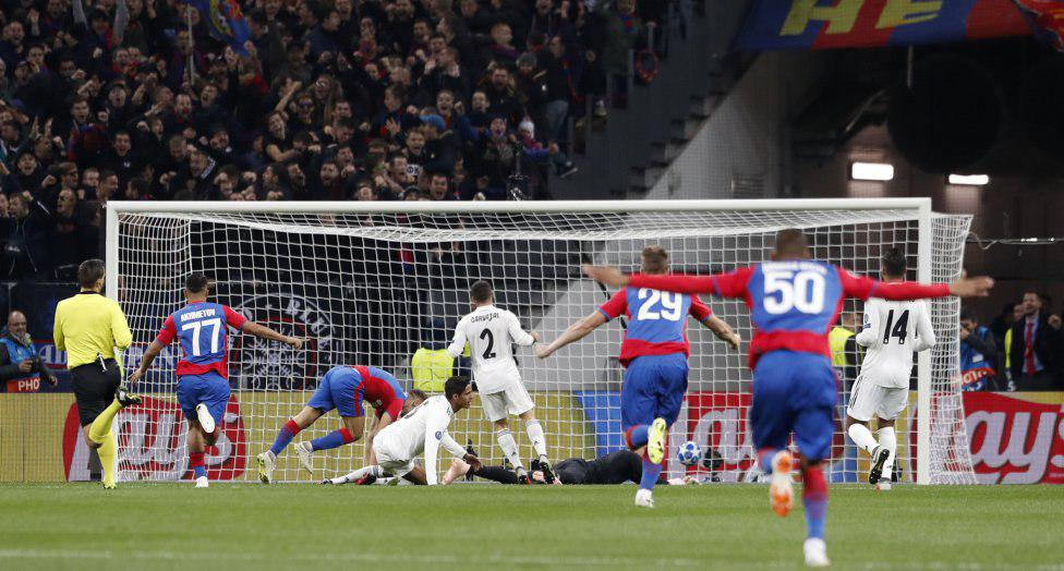 رئال مادرید در مسکو غافلگیر شد/منچستر بازهم نبرد