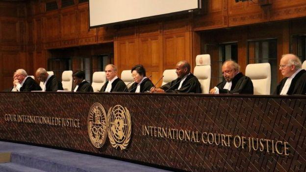 اعلام رای دیوان بین المللی دادگستری