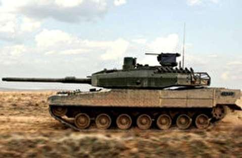 تانک اصلی میدان نبرد آلتای