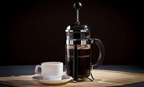 طرز تهیه قهوه فوری با فرنچ پرس