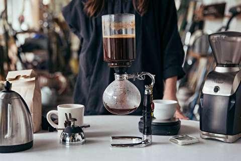 طرز تهیه قهوه فوری با وکیوم پات