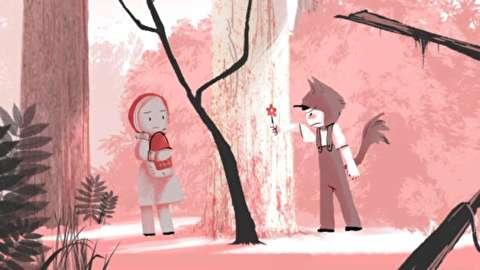 انیمیشن کوتاه قرمز