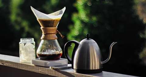 طرز تهیه قهوه فوری با کمکس