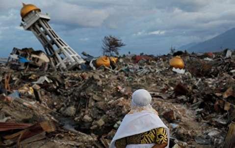 آثار وحشتناک زلزله اندونزی
