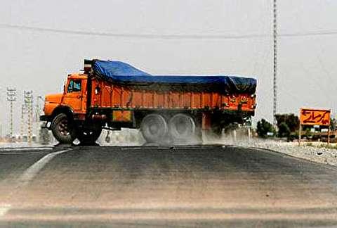 آلودگی در پیست شبانه کامیونها