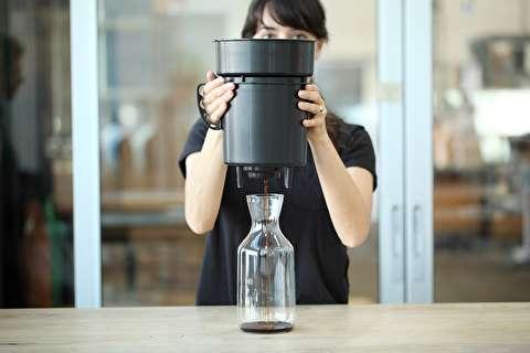 طرز تهیه قهوه فوری سرد با فیلترون