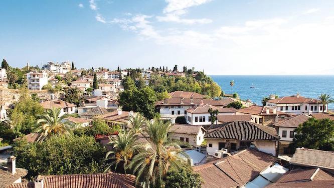 دیدنیهای یکی از شهرهای توریستی ترکیه
