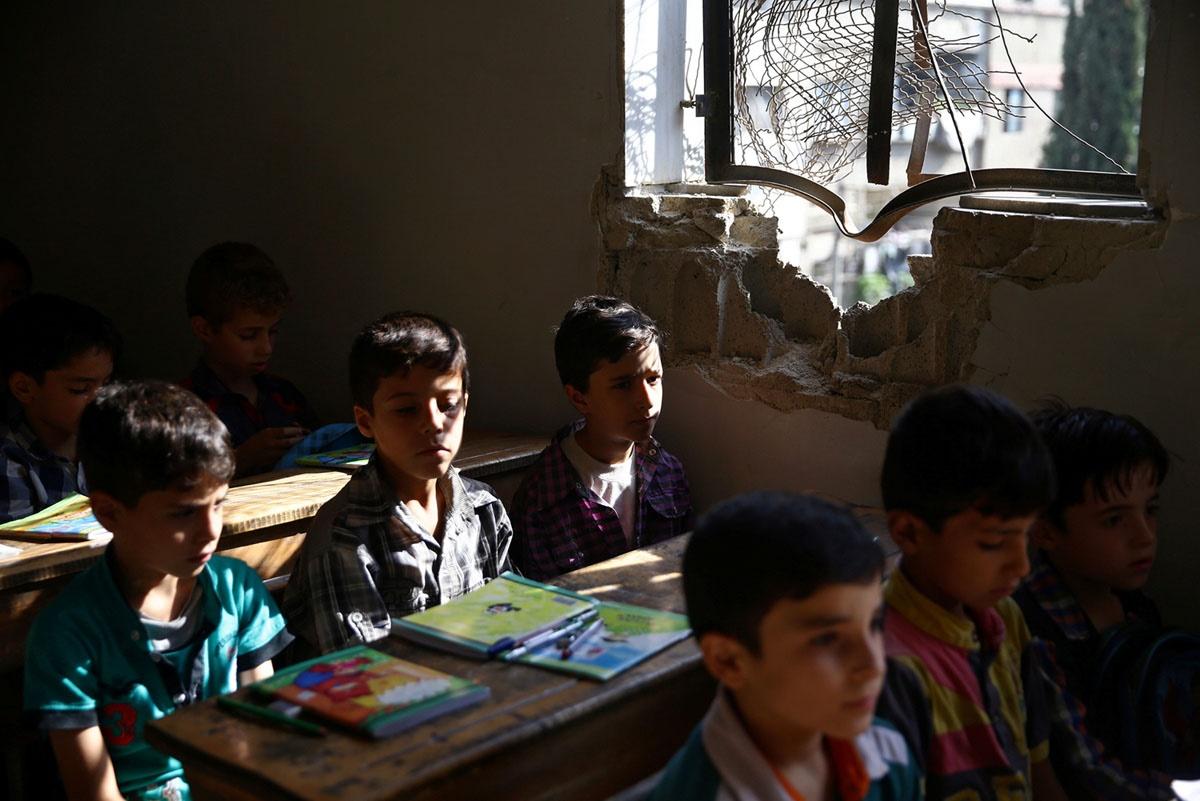 50 هزار دانش آموز و 525 معلم سوری در تیررس استراتژی جدید عربستان سعودی!