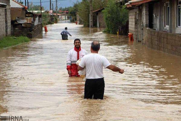 امداد رسانی به ۱۱ هزار نفر در بحران سیلابی شمال
