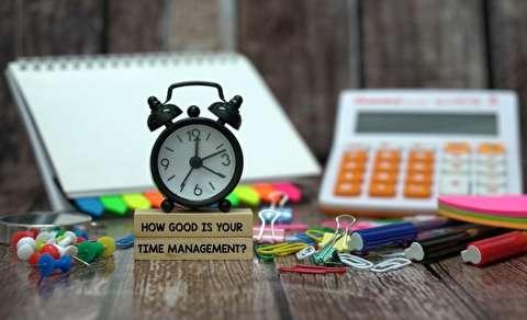 ده توصیه برای مدیریت بهتر زمان