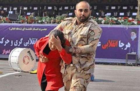 حرفهای سربازان فداکار حمله تروریستی اهواز