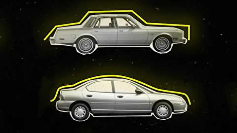 چگونه خودرو از شکل جعبه به منحنی تغییر کرد؟