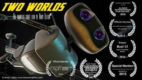 انیمیشن کوتاه دو جهان