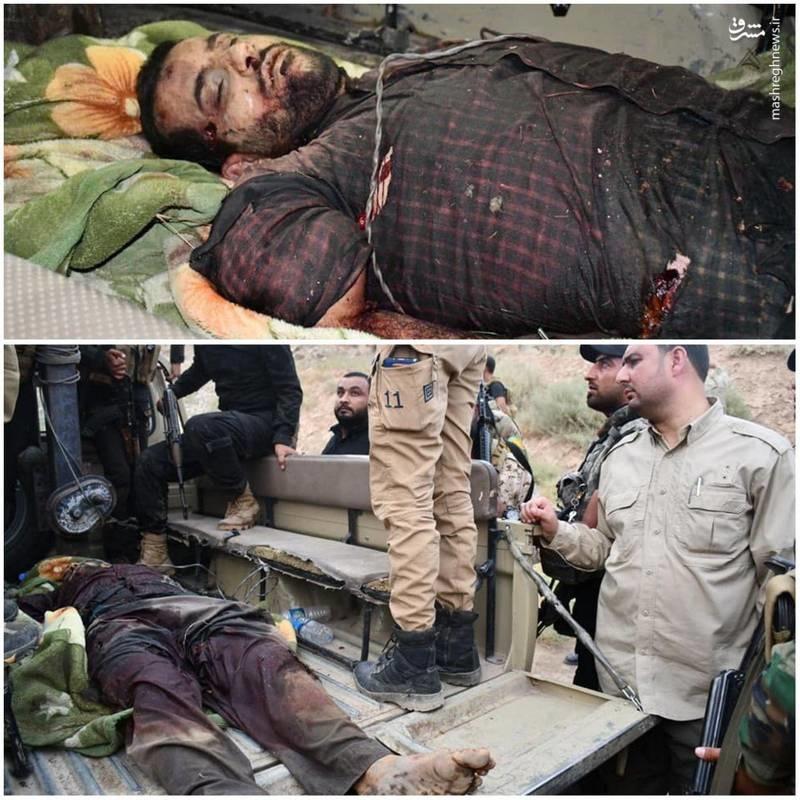 عکس منتشره از جنازه طراحاصلی حمله به اهواز