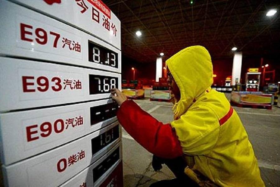 بهای سوخت در چین افزایش یافت