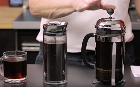 مقایسه قهوه آمریکن پرس، فرنچ پرس و ایروپرس