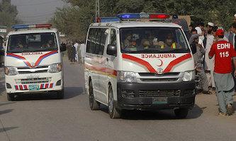 54 کشته و زخمی بر اثر برخورد دو اتوبوس در پاکستان