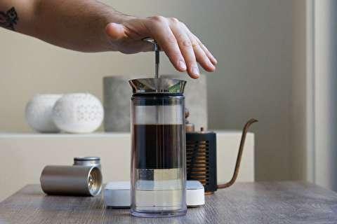 طرز تهیه قهوه فوری با آمریکن پرس