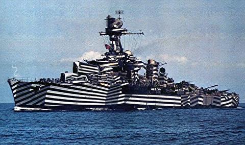 چرا کشتیها در جنگ جهانی اول استتار میکردند؟