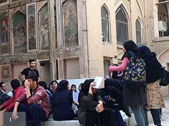 ماجرای تحصن امروز دانشکده حفاظت و مرمت دانشگاه هنر اصفهان چیست؟
