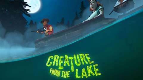 انیمیشن کوتاه جانوری از دریاچه