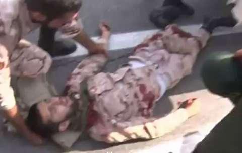 تصاویر تازه از حمله تروریستی اهواز