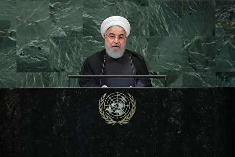 سخنرانی حسن روحانی در سازمان ملل متحد