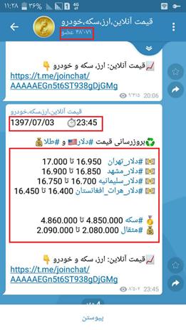 تعیین قیمت دلار در فضای مجازی و تزریق آن به دنیای واقعی