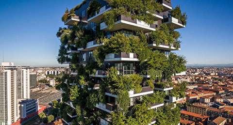 معماری میلان از نمای بالا