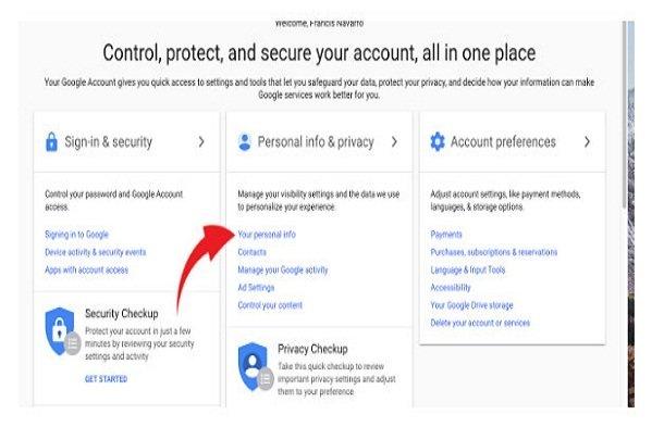 چگونه ردیابی موقعیت مکانی گوگل را خاموش کنیم؟