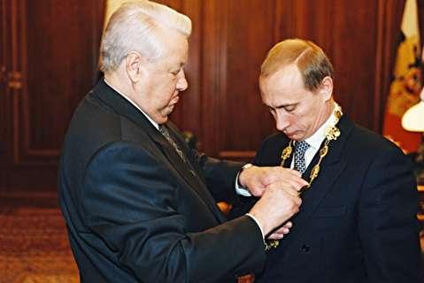 خودنویس یلتسین نماد انتقال قدرت به پوتین
