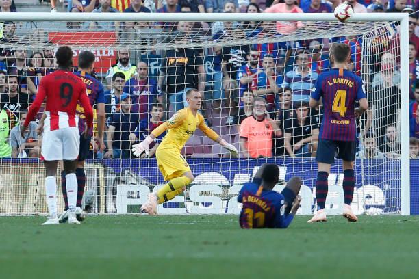 فرار بارسلونا از شکست در خانه ترس بیلبائو