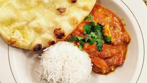 دستور پخت کاری مرغ هندی
