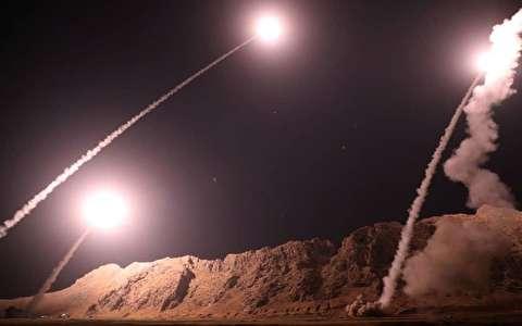 حمله موشکی سپاه به عاملان حمله تروریستی اهواز