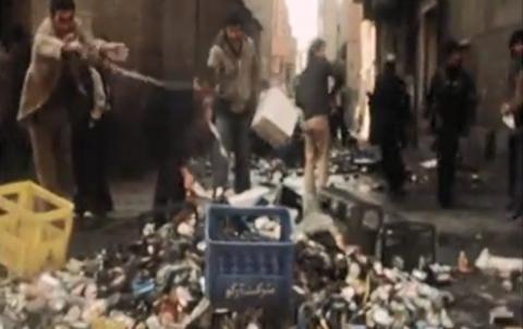 تخریب مشروب فروشیها در اوج انقلاب اسلامی