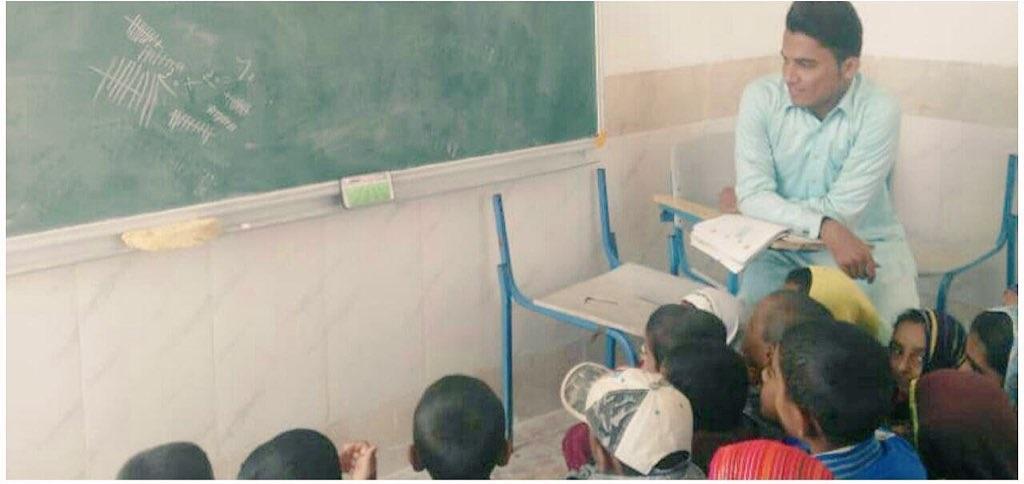 مدرسهای که با یک عکس و توییت جهانی شد