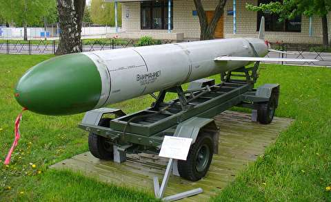 موشک کروز فروصوت کیاچ-55، حامل بمب اتم