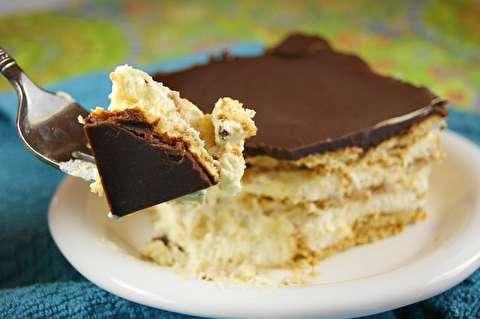 طرز تهیه دسر اِکلر شکلاتی بدون نیاز به پخت